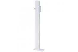 Colonna di fissaggio, 200 x 100 x 970 mm, Acciaio Epossidico, Bianco