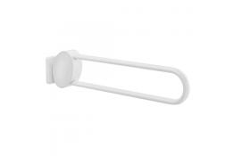 Maniglioni ribaltabili ARSIS, 770 x 109 x 182 mm, 38 x 25 mm, Alluminio Epossidico, Bianco