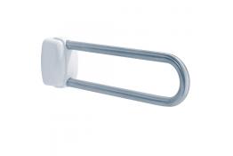 Inklapbare stang, 600 mm, Roestvrij staal, Geborsteld, Ø 30 mm