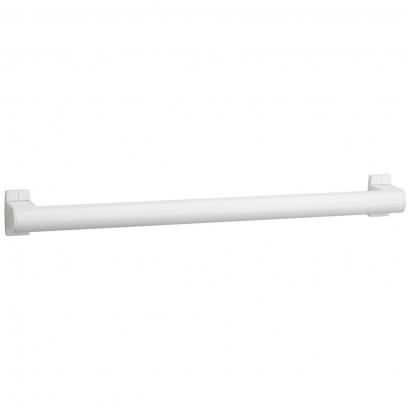 Barre droite Arsis 800 mm, Aluminium Epoxy Blanc