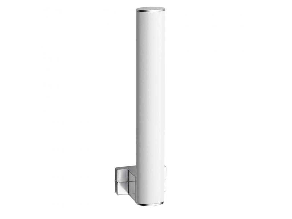 Toilet paper reserve, 265 x 69 x 67,5 mm, White epoxy-coated