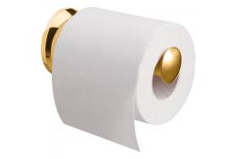 Toiletroldispenser, 133 x 25 mm, Messing, Glanzend gepolijst, Ø 25 mm