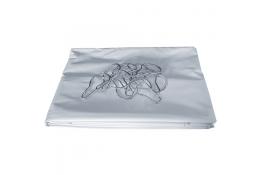 Rideaux de douche 1800 x 1800 mm, PVC, non feu