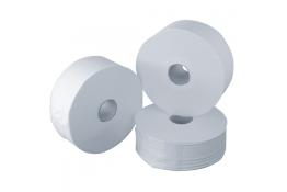Toiletpapierrol, 500 m, Crêpepapier, , Ø 260 mm