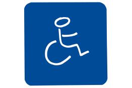 "Figurine adhésive ""Handicapés"""