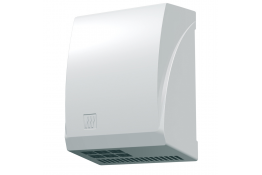 Sèche-mains 2600 W, Aluminium Epoxy Blanc