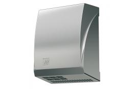 2600 W Hand dryer, 300 x 274 x 140 mm, Mat chrome-plated Aluminium