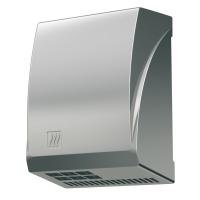 Sèche-mains 2600 W, Aluminium Chromé mat