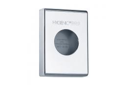 Dispenser hygiënische zakjes, 137 x 100 x 27 mm, ABS, Verchroomd