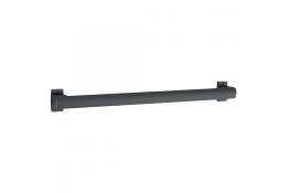 ARSIS® straight grab bar, 400 mm, White Epoxy-coated Aluminium, tube 38 x 25 mm
