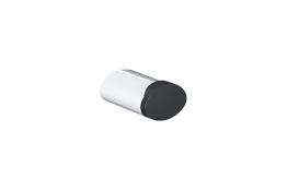 Appendiabito 2 pomelli,, 105 x 69 x 67,5 mm, Tubo 38 x 25 mm, Alluminio Cromato
