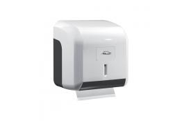 Distributore di carta igienica misto, 145 x 137 x 122 mm, ABS , Bianco e Grigio