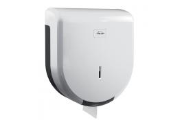 Dispenser carta igienica, 320 x 285 x 120 mm, ABS , Bianco e Grigio