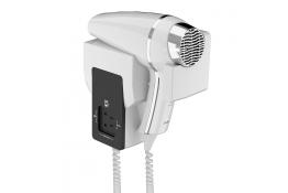1400 W Hair dryer, 269 x 232 x 102 mm, White ABS