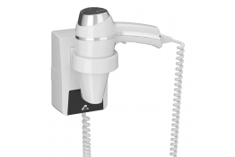 Secador de pelo de 1400 W, 155 x 197 x 135 mm, ABS, Blanco