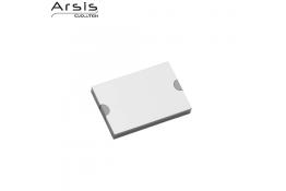 Rotaia & coprifissaggio 98 mm, alluminio anodizzato