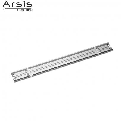 rail de fixation 443 mm aluminium anodis. Black Bedroom Furniture Sets. Home Design Ideas