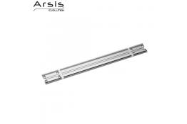 Bevestigingsrail 443 mm, geanodiseerd aluminium