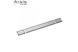 Rotaia di fissaggio 552 mm, alluminio anodizzato