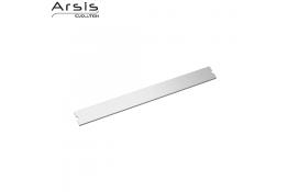 Afdekking alleen 443 mm, geanodiseerd aluminium