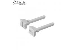Cerrojos, ABS blanco