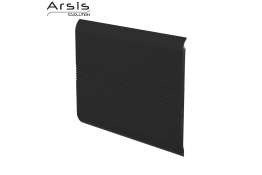 Enkel rugleuning, antracietgrijs ABS