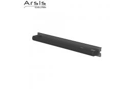 Maniglione di sostegno amovibile 443 mm, grigio antracite e anodizzato