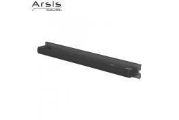 Barre d'appui amovible 552 mm, anthracite & anodisé