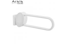 Maniglioni ribaltabili ARSIS, 600 x 109 x 182 mm, 38 x 25 mm, Alluminio Epossidico, Bianco