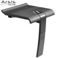 Sedile doccia ribaltabile ARSIS Grigio antracite e Grigio