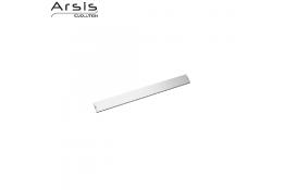 Rotaia & coprifissaggio 443 mm, alluminio anodizzato