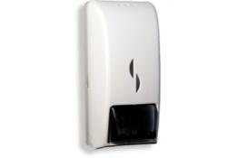 Vloeibare zeepdispenser, 255 x 120 x 100 mm, ABS, Wit