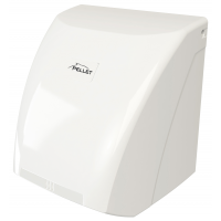 Sèche-mains 2100 W, 280 x 205 x 200 mm, ABS Blanc