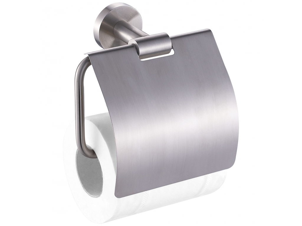 Dérouleur Papier Wc Metal style - toilet roll holder, brushed stainless steel