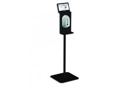 Station de désinfection avec distributeur électronique de savon liquide