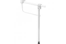 Béquille de soutien, Aluminium Epoxy Blanc