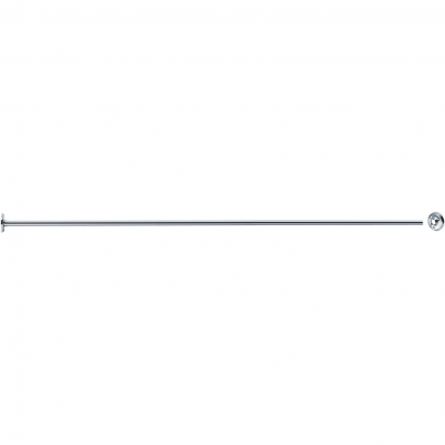 Porte-rideaux droit 1200 mm