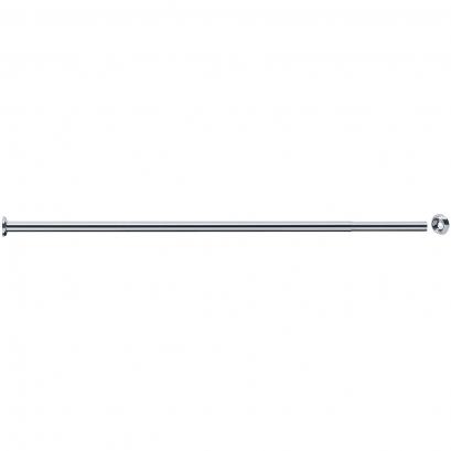 Porte-rideaux droit extensible, 870 à 1500 mm, Ø 20 mm