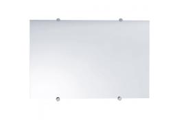 Rechthoekige spiegel, 600 x 400 mm, Glas, Gladde randen