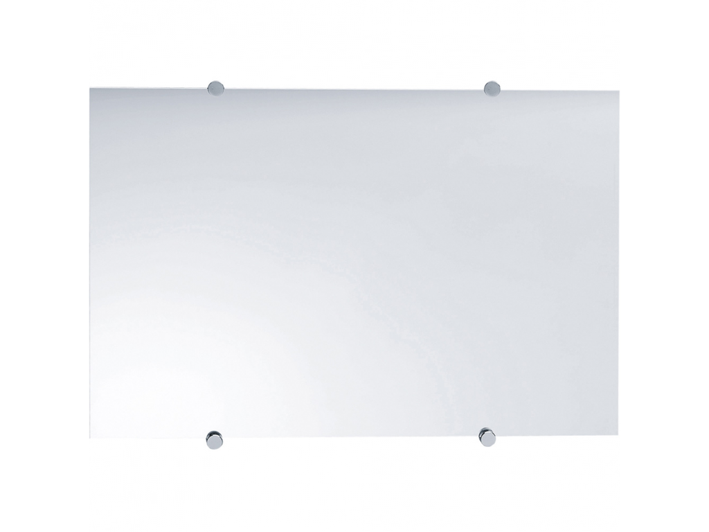 Verwonderlijk Rechthoekige spiegel, 600 x 400 mm, Glas, Gladde randen HY-67